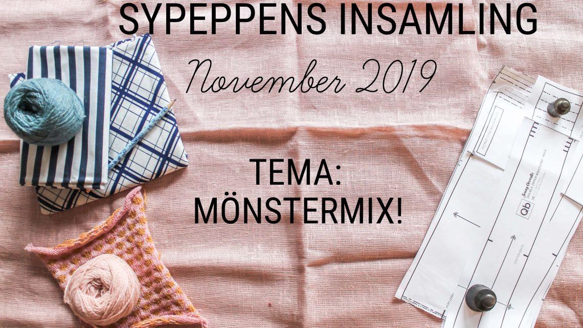 Sypeppens insamling: November 2019